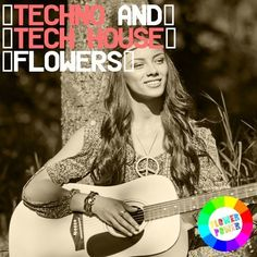 Techno And Tech House Flowers 3 by Flower Hippie tested! Loco & Jam Mucho Stylez Wally Lopez Anna Reusch Toni Rios and Tech House, Techno, Flower Power, Anna, Cover, Flowers, Florals, Techno Music, Flower