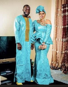 African Wear, African Fashion, Beautiful Couple, Low Heels, Boutique, Sari, Bride, Couples, How To Wear
