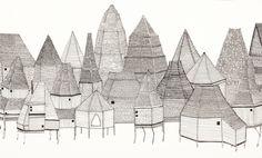 Rebecca O'Callaghan - My Heart Wanders Illustration Art, Illustrations, Water Art, Fantastic Art, Popup, Westminster, Brave, Vietnam, Print Patterns