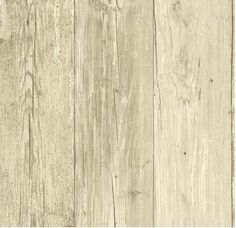 WALLPAPER BY THE YARD Distressed Wood Plank White Barnwood Woodgrain Rustic Moss