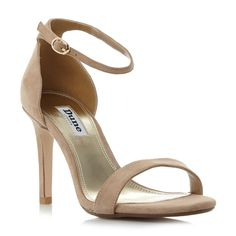 DUNE LADIES MORTIMER T - Two Part Ankle Strap Sandal - tan | Dune Shoes Online