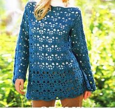 LONG SWEATER turquoise