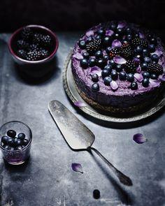 Blueberry & Blackberry Cake