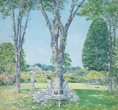 Childe Hassam, The Audition, East Hampton