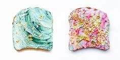 this makes me laugh. naturally dyed Unicorn Toast and Mermaid Toast by Vibrant and Pure Turmeric Juice, Beachbody Blog, Apt Ideas, Vegan Options, 21 Day Fix, Health And Nutrition, Cool Kids, Unicorn, Vibrant