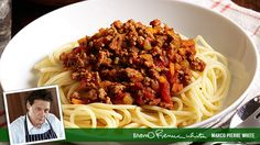 Quick Bolognese Sauce recipe by Marco Pierre White