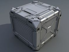 Sci-Fi Containers formats include MAX, OBJ, FBX, barrel barrels box boxes, ready for animation and other projects Futuristic Interior, Spaceship Interior, Futuristic Art, Futuristic Technology, Hard Surface Modeling, 3d Modeling, Sci Fi Environment, Sci Fi Models, Cargo Container