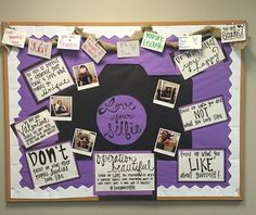 Love Your Selfie Bulletin Board (self love)