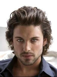 Great long hair style for men!