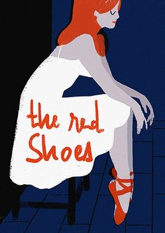 virginie-morgand: The Red Shoes de Michael Powell Illustrations, Red Shoes, Fairy Tales, Dancer, My Love, Artwork, Movie Posters, Movies, Fictional Characters