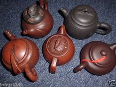 Start price:  US $89.99              FREE shipping     5-CHINA-CLAY-TEAPOT-LOT            Mouse over image to zoom                                                                                           Have one to sell? Sell it yourself       5-CHINA CLAY TEAPOT LOT.