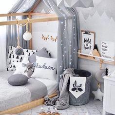 Kids Furniture, Bedroom Furniture, Modern Girls Rooms, Deco Addict, Blog Deco, Kids Room Design, Diy Room Decor, Home Decor, Home Interior