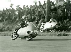 Italian Guzzi GP Motorcycle Photo by Giovanni Perrone Fine Art Print