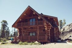 Amazing log cabin! The HideOut in Kirkwood, CA.