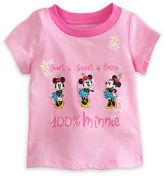 Minnie Mouse Tee for Baby on shopstyle.com
