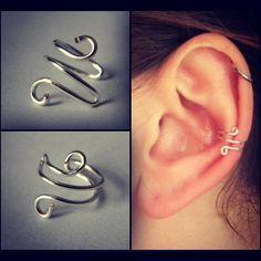 Silver Loop Ear Cuff by RachelErinC on Etsy, $7.00