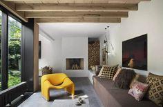 Old Garage, Lounge, Studio, Website, Design, Wall, Interior, Bed, Furniture