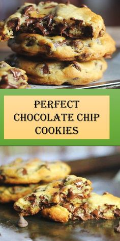 Cookies Soft, Perfect Chocolate Chip Cookies, Appetizer Recipes, Dessert Recipes, Pumpkin Spice Cookies, Good Food, Yummy Food, My Best Recipe, Yummy Cakes