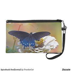 Spicebush Swallowtail Wristlet Purse