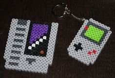 8bit bead art Game Boy