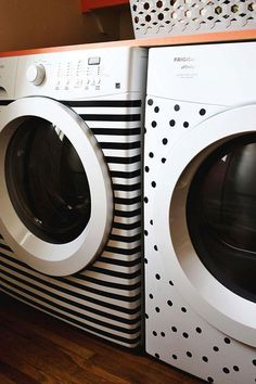 Washer and dryer stickers....cuuuuute!