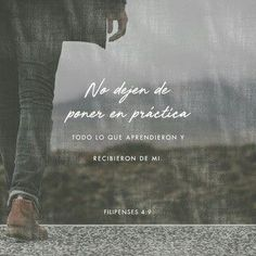 Philippians What you have learned and received and heard and seen in me—practice these things, and the God of peace will be with you. Favorite Bible Verses, Bible Verses Quotes, Bible Scriptures, Faith Quotes, Bible Words, Prayer For Parents, School Prayer, Biblia Online, Verse Of The Day