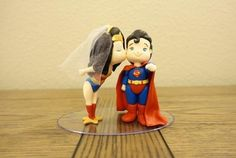 Casal Super Homem e Mulher Maravilha