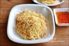 감자팬케이크 만드는법, 감자요리, 감자부침~베스트감자요리 – 레시피   다음 요리 Spaghetti, Appetizers, Cooking Recipes, Ethnic Recipes, Food, Chef Recipes, Food Food, Cooking, Appetizer