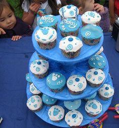 blues clues cupcakes party-blue-clues
