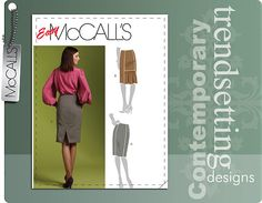 McCall's 5934 -- pencil skirt variations