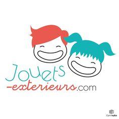 Création du #logo du site e-commerce jouets-exterieurs.com (by www.commybox.fr)