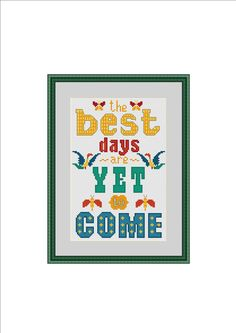 Subversive cross stitch Cross stitch quote by StitcheryStitch