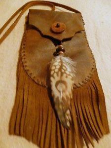 boho hippie native american clothing | ... -Medicine-Bag-Pouch-Hippie-Native-American-Tribal-Handmade-Purse-Boho