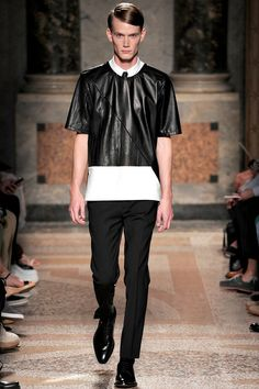 Les Hommes Spring 2014 Menswear Collection Slideshow on Style.com