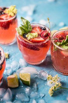 summertime rose tequila
