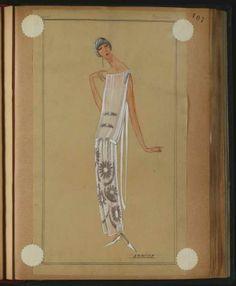 ARMIDE CANNES  1923 © Patrimoine Lanvin. #Lanvin125