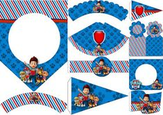 Paw Patrol: Free Party Printable.