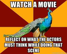 And people wonder why I laugh during the most inappropriate times during movies... Lol