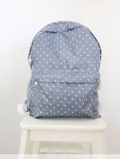 Cheap Sweet Lace Bouquet Dot Trunk Canvas Backpack For Big Sale!Sweet Lace Bouquet Dot Trunk Canvas Backpack will be your partner. Cute Backpacks For School, Girl Backpacks, Backpack Tutorial, Animal Bag, Japanese Sewing, Canvas Backpack, Diy Backpack, Mk Handbags, Mk Bags