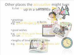 Learn German Grammar: Accusative Case - YouTube