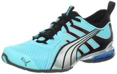 122f2aa75c7 Puma Women s Voltaic 4 Fluo Running Shoes in blue.