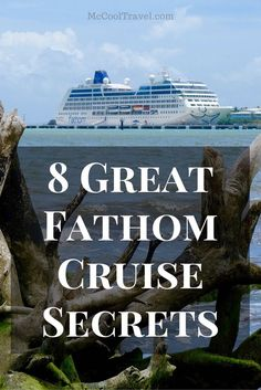 Fathom is a cruise line promoting impact travel and traveling with purpose—giving back while on vacation. In this article I share Fathom Cruise secrets.