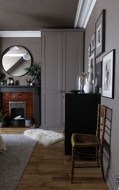 Hack! Ikea Pax wardrobe and DIY West Elm bedside tables - designsixtynine