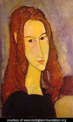 Portrait Of A Girl - Amedeo Modigliani - www.modigliani-foundation.org