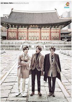 ♥ Suho & Baekhyun & Xiumin | Exo