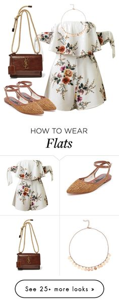 """""""Girls Trip: Wine Tasting"""" by jakie-garita on Polyvore featuring WithChic, Zolà , Yves Saint Laurent, girlstrip and WineTastingOutfit"""