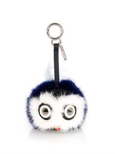 Fendi Bird Bag Bugs bag charm