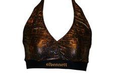 Top (Brassière) vêtement de danse Elbennett. Conception unique
