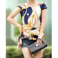 Chiffon Blouse Cheap Shop Fashion Style With Free Shipping | RoseGal.com