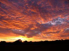 Sunset on Kangaroo Island, South Australia;  photo by IAGD+P, via Flickr.